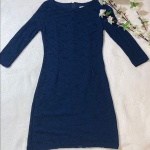 🍂 Blue lace dress Costa Blanca